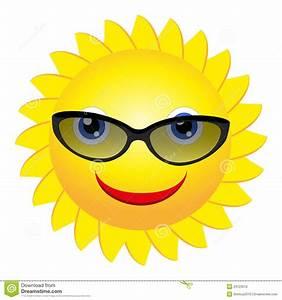 Sun with sunglasses stock vector. Illustration of humor ...
