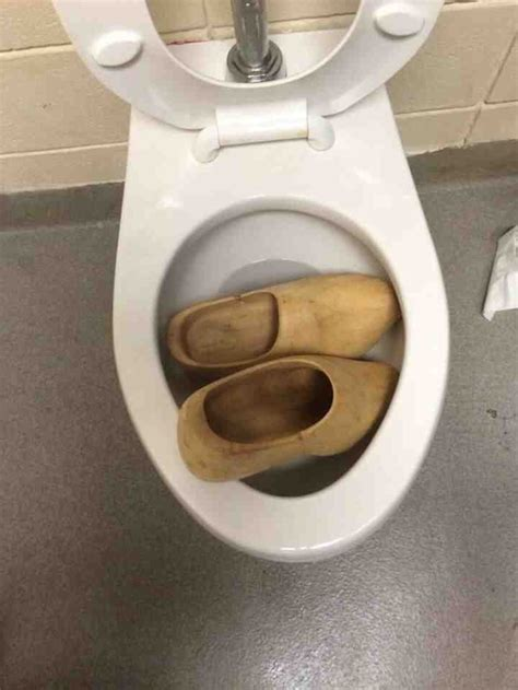 clogged  toilet meme guy