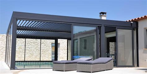 pergola alu bioclimatique wallis outdoor pergola alu