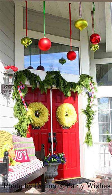 porch decorating ideas for christmas cool decorating ideas for christmas front porch the xerxes