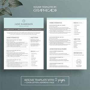 modern resume template for microsoft word limeresumes With free 2 page resume template