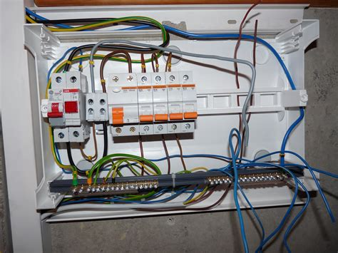 Basic House Wiring Fuse Box by File Linnam 228 E 37 Fuse Box Wiring Process Jpg Wikimedia
