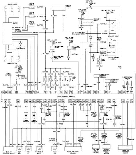 Wiring Diagram Toyota Tacoma Fixya