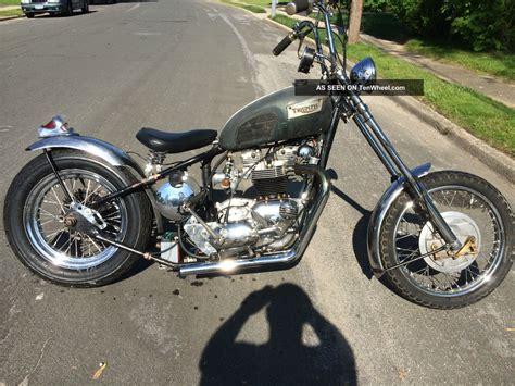 1969 Triumph Hardtail Chopper Rat Bike