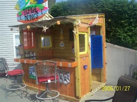 Build A Tiki Bar by Diy Tiki Bar Plans Woodworking Projects Plans