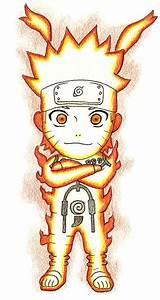Chibi Naruto Nine-Tailes Chakra Mode by Gallade007 on ...