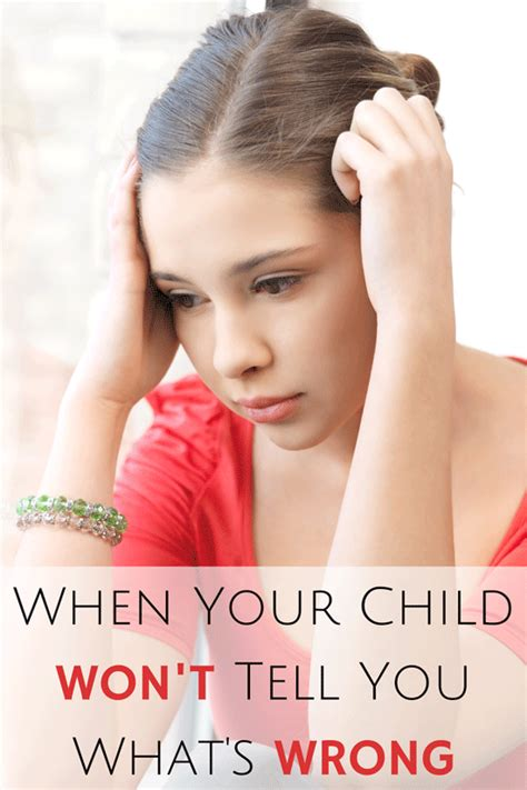 When Your Child Won't Tell You What's Wrong — Bonbon Break