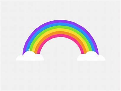 Rainbows Animation Rainbow Dribbble Everywhere Gifs Mario