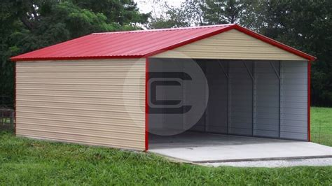 2 Car Carport Cost by Metal Carports Prices Carport Prices 2018 Steel