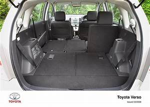 Toyota Verso Dimensions : corolla verso interior 2004 2007 toyota uk media site ~ Medecine-chirurgie-esthetiques.com Avis de Voitures