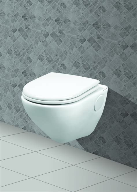 Wall Mounted European Water Closet by Belmonte Wall Hung Water Closet Titan White In