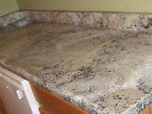 Lynda Bergman Decorative Artisan Painting Formica Granite Part Iii Kitchen Countertop Paint Look Like Granite Ideas