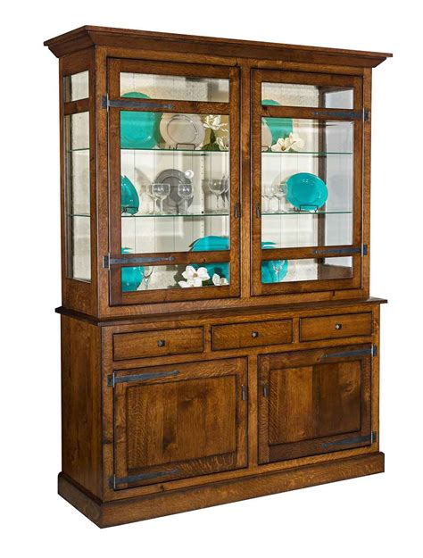 china cabinets and hutches amish made china cabinet