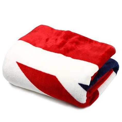 plaid 200 x 150 promotion 150 x 200cm uk flag soft warm comfortable coral fleece fashion blanket flannel plaid