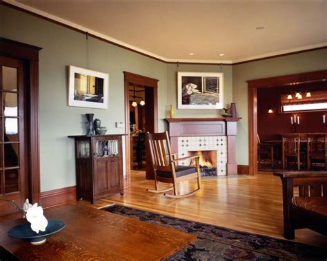 interior colors for craftsman style homes mission style paint colors craftsman living room by