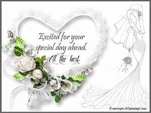 Bridal shower wishes 365greetingscom for Images of wedding shower cards