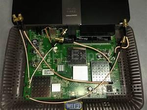 Wifi Expert Extreme 2dbi 6dbi 7dbi 9dbi Dual 6 Antennas Mod Kit Linksys E4200 V1  U2013 Rf Coaxial