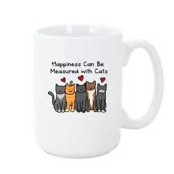 cat mugs happiness cat mug iheartcats all cats matter