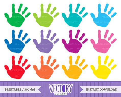 Pencil And In Color Hand Clipart