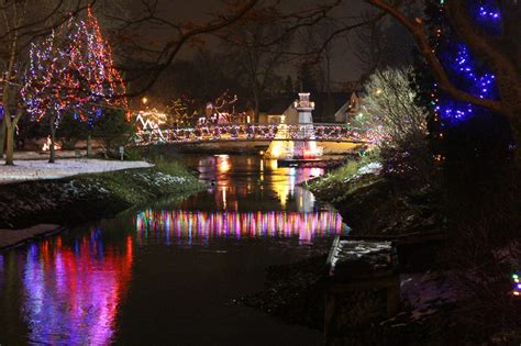 best place to see holiday lights kingston ontario places to see magical lights in ontario to do canada
