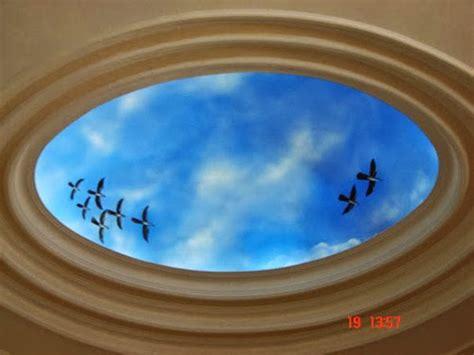motip plapon gypsum  desain cet langit langit