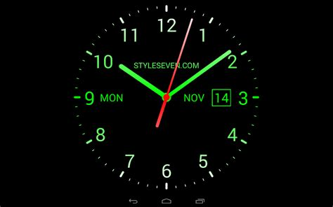 Animated Clock Wallpaper For Pc - analog clock live wallpaper 7 play de android