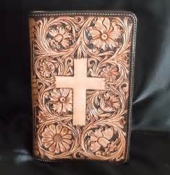 Custom Leather Bible Cover