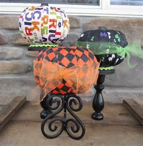 Mod Podge Halloween Pumpkin Ideas