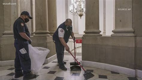 Capitol staff who cleaned up after riot get thank you ...