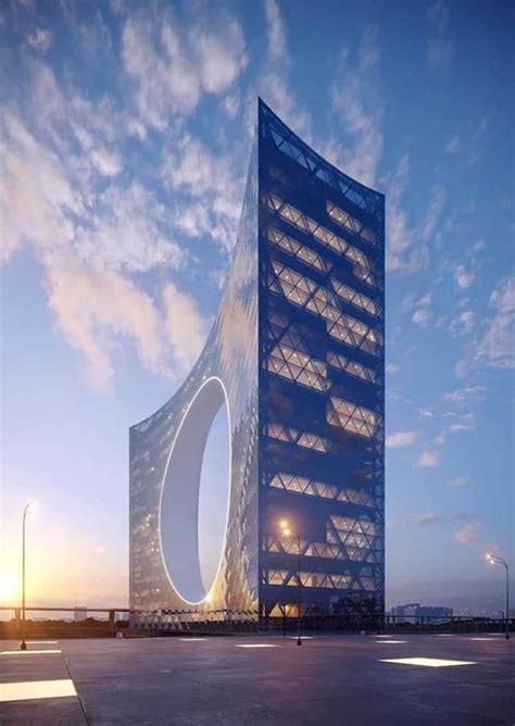 tower   sun  skyscraper center