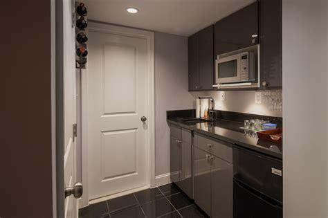 hancock basement en suite kitchenette modern dc metro