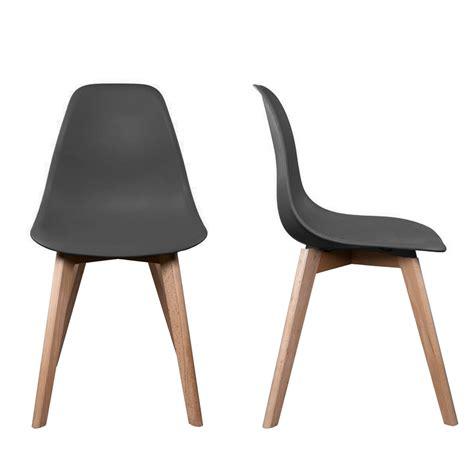 chaise pas cher grise chaise en chene pas cher maison design wiblia com