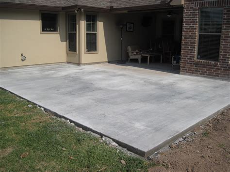 Concrete Slab For Backyard