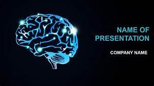 brain activity powerpoint template background for With brain powerpoint templates free download