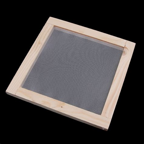 wooden paper making mold papermaking mould frame screen