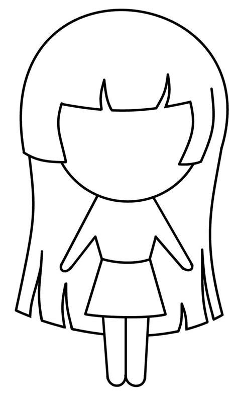 Chibi Girl Girl drawing easy Easy cartoon drawings
