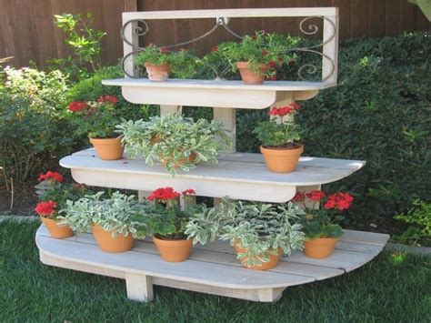 25 Best Collection Of Tiered Outdoor Plant Stand