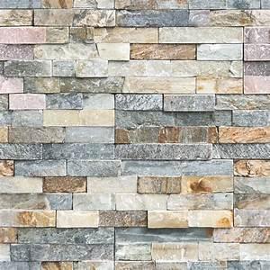 Pierre Parement Extérieur : stickers parement de pierres naturelles salon design ~ Nature-et-papiers.com Idées de Décoration