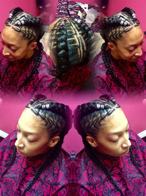 freehand feed  stitch braids tzipporahbraidingstudio