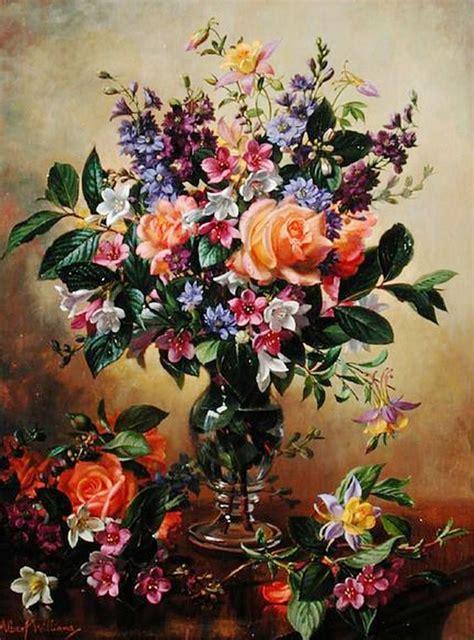 bodegones de flores pintados al 211 leo bodegones y paisajes cuadros al 211 leo blumen malerei