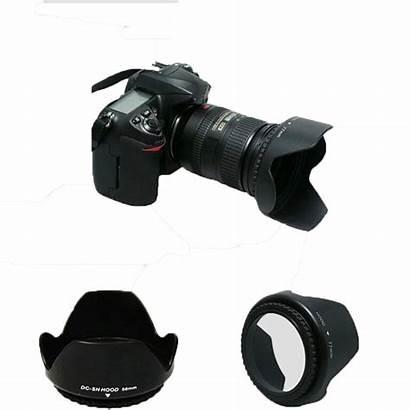 Lens Hood Nikon Camera D3000 Canon 52mm