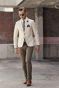 Tenue Blanche Homme : tenue soir e homme veste blanche cravate carreaux pantalon marron men 39 ssuit men 39 s fashion ~ Melissatoandfro.com Idées de Décoration