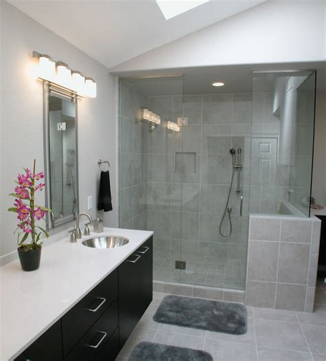 Master Bath  Before The Total Remodel Of This Home, The