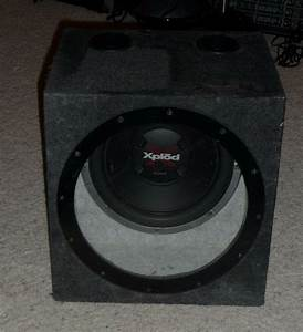 Sony Xplod 12 Inch Single Car Subwoofer In an Enclosure ...