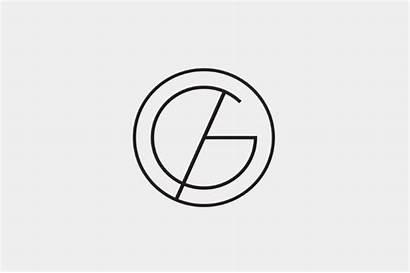 Architecture Monogram Logos Curved Minimal Shapes Straight