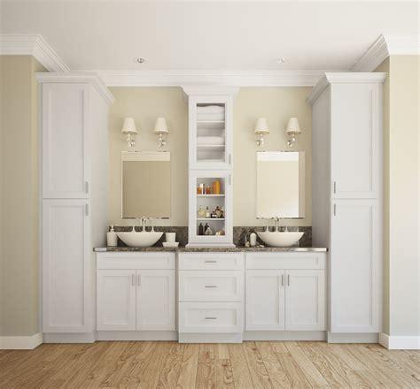 providence white ready  assemble bathroom vanities