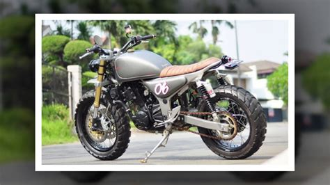 Modification Motor 250 by Modifikasi 250 Jadi Bobber Newmotorjdi Co