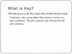Job Evaluation Methods