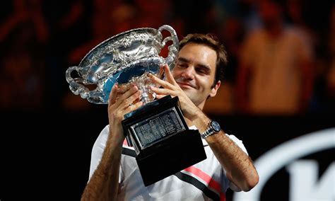 Roger Federer Photos From His 20th Grand Slam Title Run