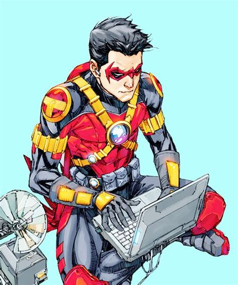 techie red robin kenneth rocafort tim drake tim drake